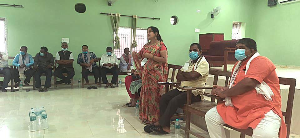 सप्तरीमा पुर्व राजपाको भेला सम्पन्न, संगठन ब्यबस्थापन गर्न एकजुट हुनुपर्नेमा जोड