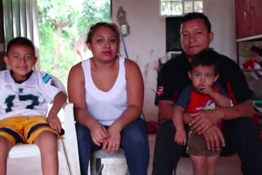 New Story Pitch Practice home for a family in El Salvador
