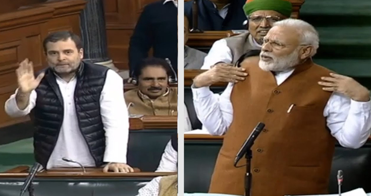 LS-adjourned-after-ruckus-over-Rahuls-danda-remarks-MODI