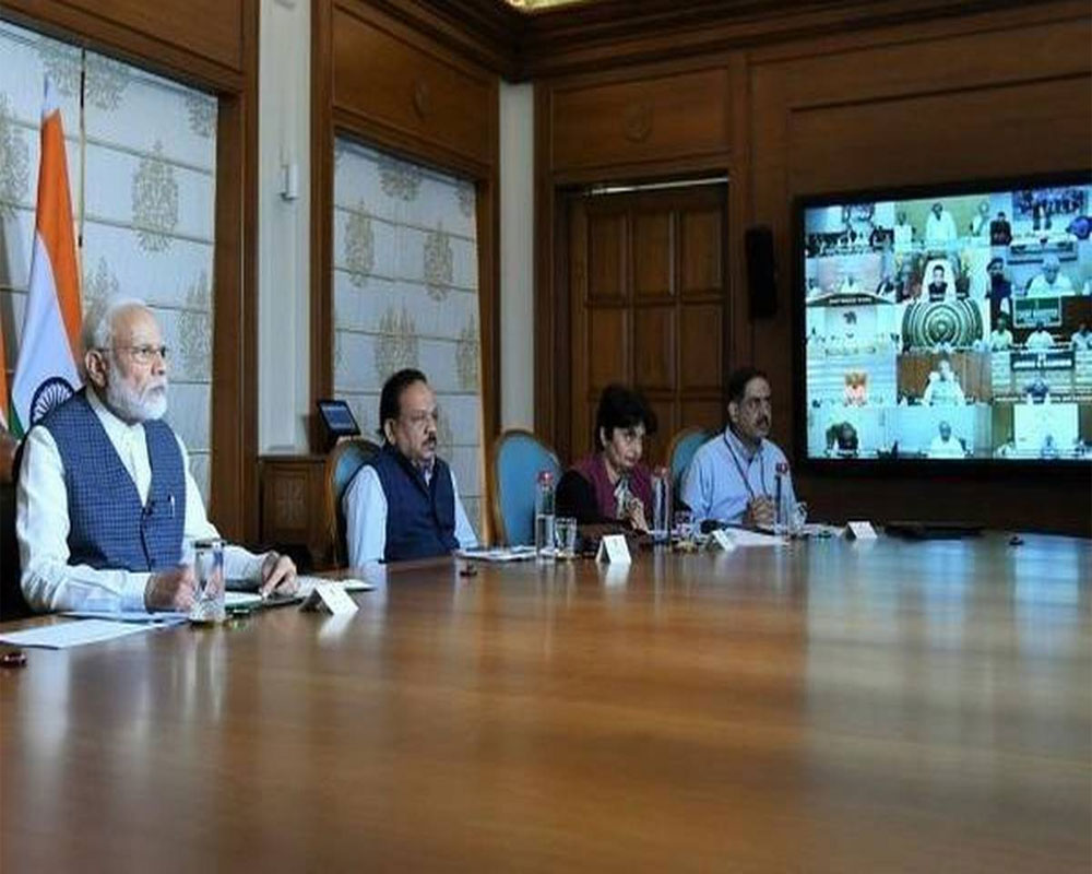 pm-modi-holds-video-conference-with-cms-on-coronavirus-2020-04-02