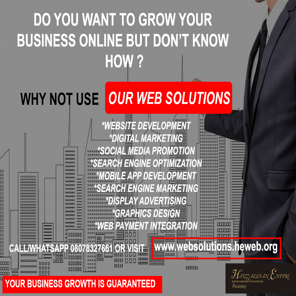 grow your business with our web solutions
