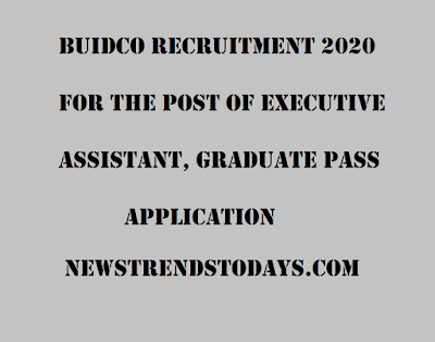 BUIDCO-Recruitment-2020