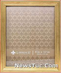 Sutter Gold 8x10 Lawrence Picture Frame
