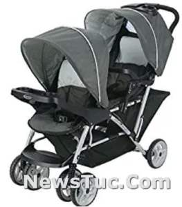 Lightweight Double Graco Duo Glider Travel Stroller