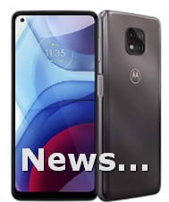 Unlocked Moto G Power Made for the US by Motorola Silver Smartphone