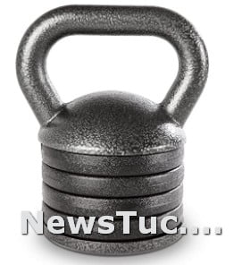 Heavy-Duty Exercise Apex Adjustable Solid Cast Iron Kettlebell Weights
