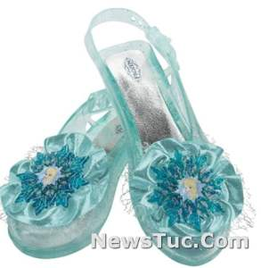Fun Colorful Frozen Elsa Disguise Starting Dress-Up Shoes