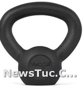 Great for Full Body Workout and Strength Yes4All Solid Cast Iron Kettlebell Weights
