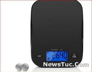 Black Etekcity Food Kitchen Weight Grams and Oz for Cooking Digital Scale