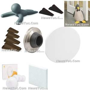 Rigid Vinyl Prime-Line Products Adhesive-Backed, Paintable, Pack of 5 Wall Protector