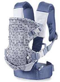 Woodland Toile 4-Position Blue Infantino Limited Edition Infant Baby Carrier