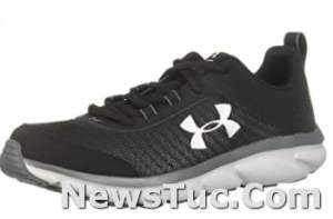 Lightweight Under Armour Unisex-Child Grade Durable leather Solid rubber Sneakers