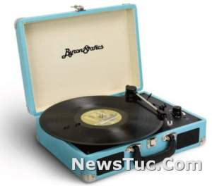 Supports RCA Line Out Byron Statics Vinyl Record Player