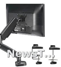VESA Mount with C Clamp Adjustable Screen up to 32 Computer Monitor Stand