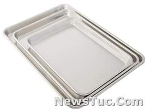 Nice variety Nordic Ware 3 Piece 1-Pack, Aluminum Baker's Delight for any kitchen pan