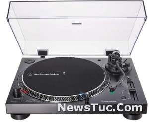 Hi-Fi Audio Technica Variable Pitch Control Record Player