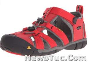 Synthetic Polyester Non-marking rubber outsole KEEN Unisex-Child Seacamp Ii CNX Sandal