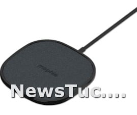 Fast Charge Made for Qi-Certified Devices Black Wireless 15W Charging Pad