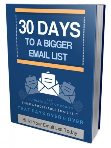 30 days List building