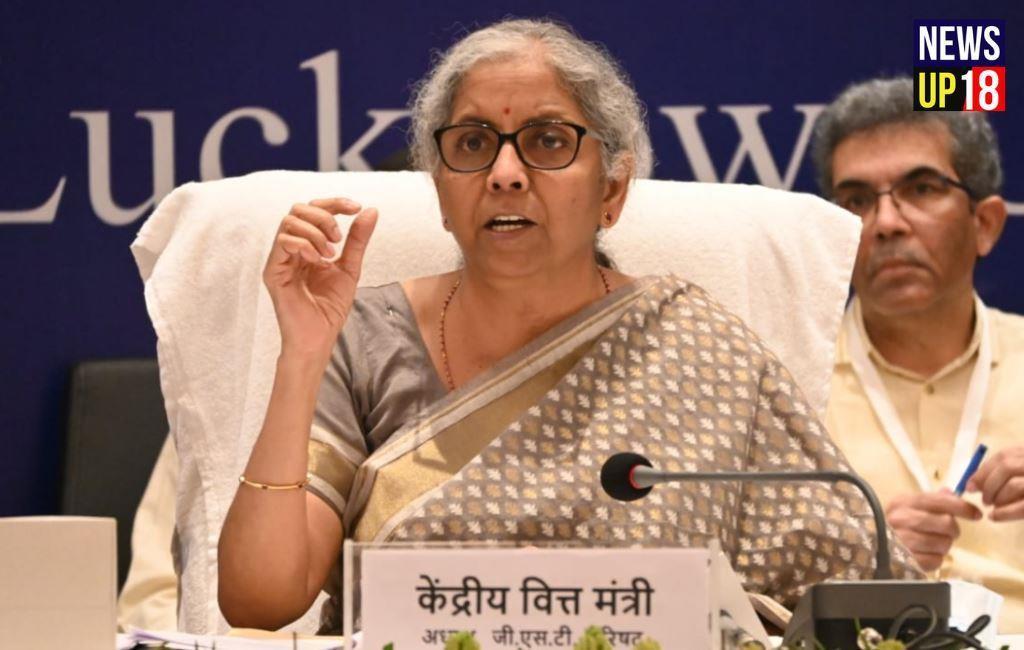 वित्त मंत्री निर्मला सीतारमण आज लखनऊ में हुई 45 वीं GST Council Meeting में शामिल हुई।