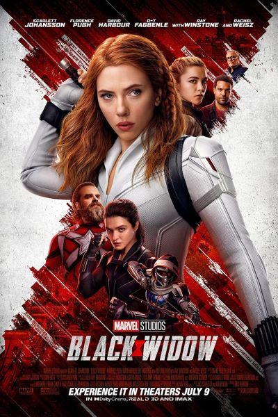 Black Widow Movie Poster 2021
