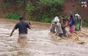 Kerala Flood, 33 killed in floods in Kerala, yellow alert issued for 11 districts
