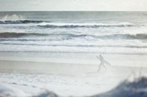 snow surfer