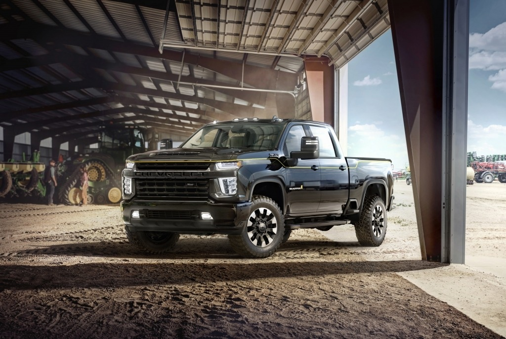 2021 Chevy Silverado Spy Photos