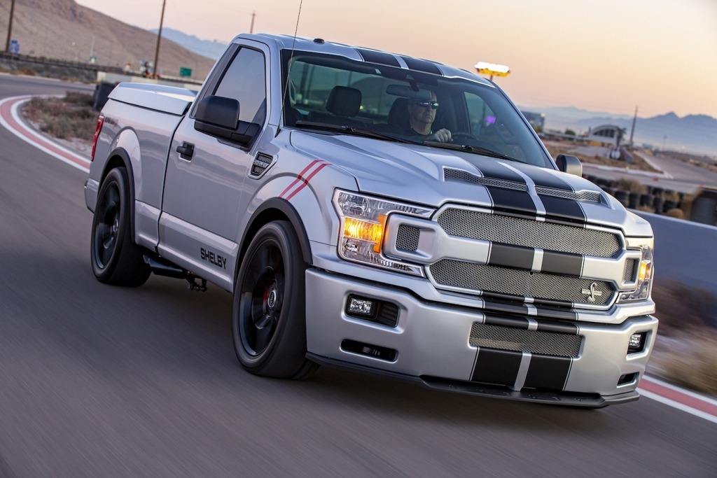 2021 Ford F150 Shelby Super Snake Engine