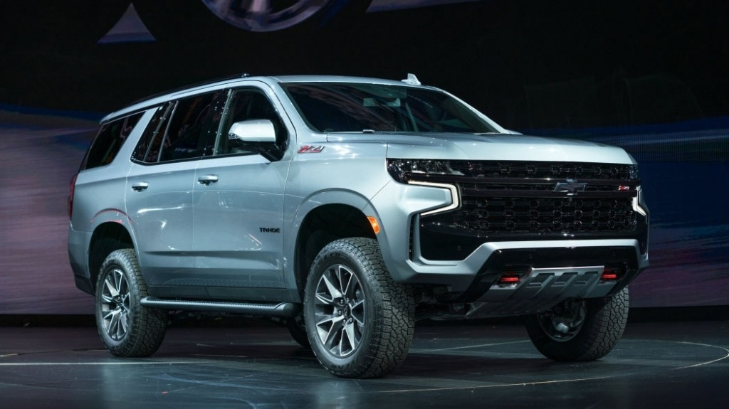 2022 Chevy Tahoe Reveal Interior