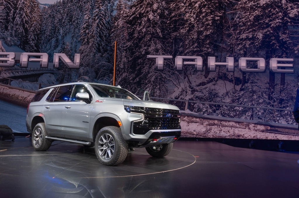 2022 Chevy Tahoe SS Engine