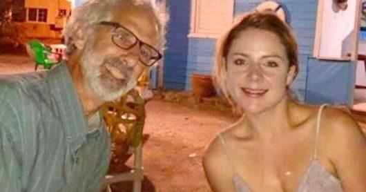 Lui ha 63 anni e lei 22, la storia d'amore non risente di 41 anni di differenza