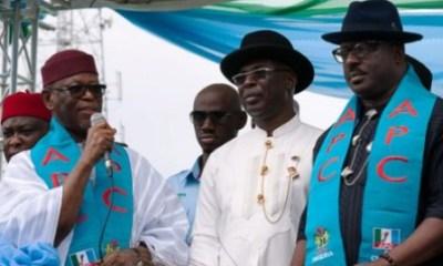 Ambode, Shettima, Okorocha, 3 other govs, Alaibe shun inauguration of Sylva's campaign council