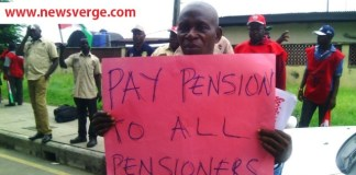 Pensioners paralyse commercial activities in Benin