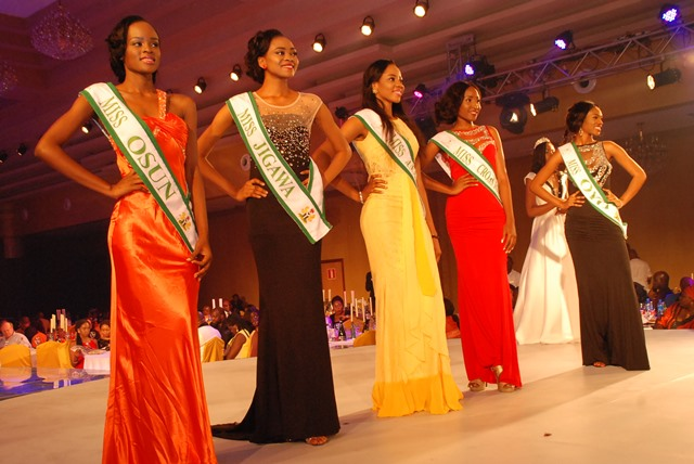 Cross Section Of The Last Five Selected, Miss Osun, Miss  Jigawa, Miss Anambra, Miss Cross River &  Miss Oyo
