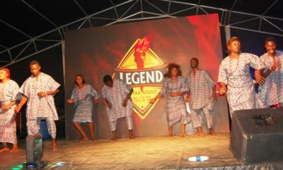 May D, Harmony cultural group, stormed Legend extra stout 'Taste and Tell' campaign