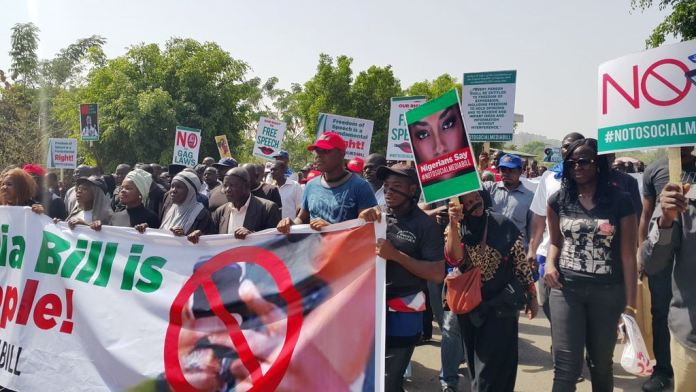 Protesters storm National Assembly over Social Media Bill