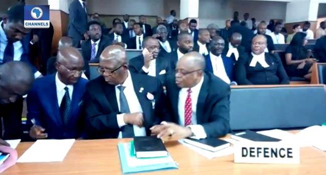 CCT adjourns Onnoghen's trial till Jan. 22 as CJN absent at hearing