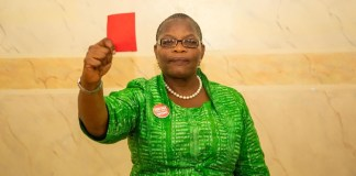 Ezekwesili leaves Nigeria's presidential race for Buhari, Atiku