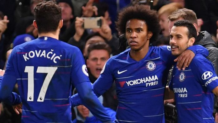 PREMIER LEAGUE: Pedro, Willian help Chelsea sink Newcastle