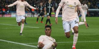 Rashford's last-gasp penalty kick knocks out stunned PSG as Manchester United advance