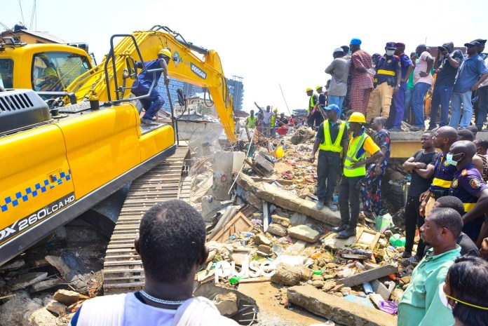 APC mourns victims of Lagos building collapse
