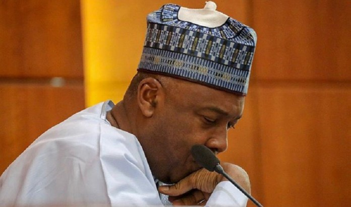 8th Senate adjourns indefinitely as Saraki bows out