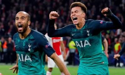Moura hat-trick sends Tottenham into Champions League final