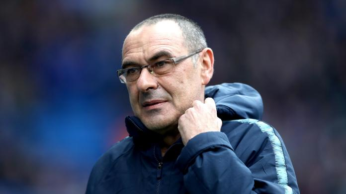 I'm a lucky man to be at Chelsea, Sarri says