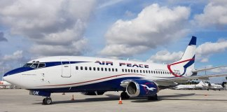 Air Peace aircraft skids off runway at Port Harcourt Airport