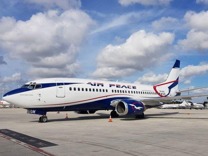 Air Peace aircraft skids off runway at Port Harcourt Airport