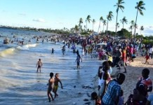 Eid-el-Filtri: Fun-seekers besiege Alpha Beach