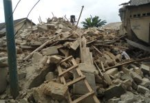 Two-storey building collapses in Warri