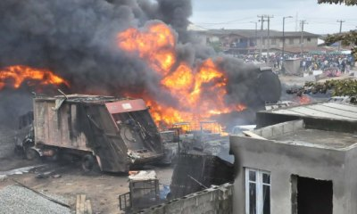 Ijegun pipeline fire put out after 17 hours, says NEMA